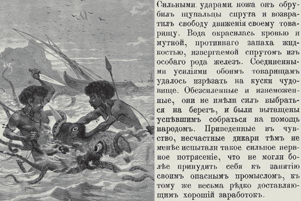 Фото №1 - Схватка с морским чудовищем