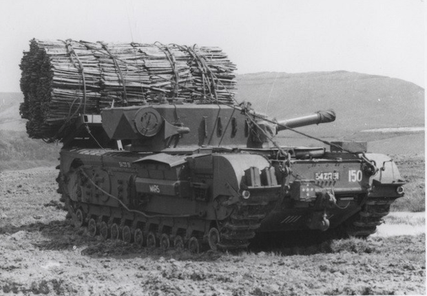 Фото №5 - «Они утонули…»: чудо-танки союзников для высадки в Нормандии