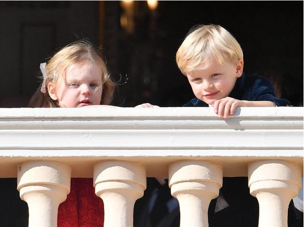 Фото №1 - Принц Жак и принцесса Габриэлла: четвертый год в фотографиях