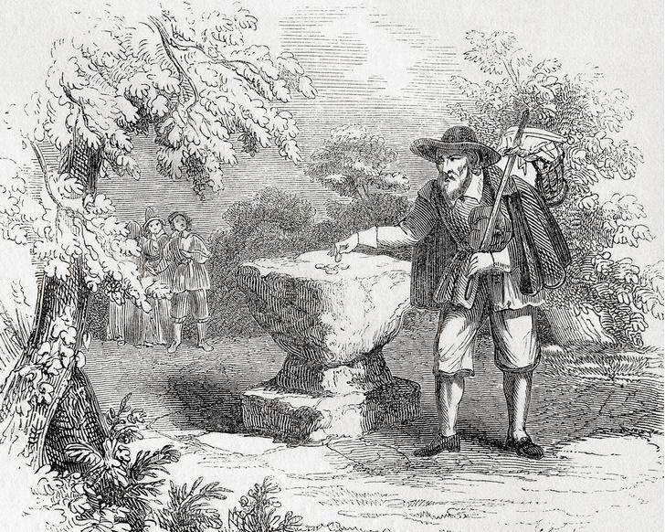 Фото №2 - Как работала бесконтактная доставка еды во время чумного карантина 1666 года
