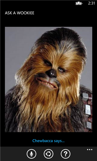 Ask a Wookiee приложение