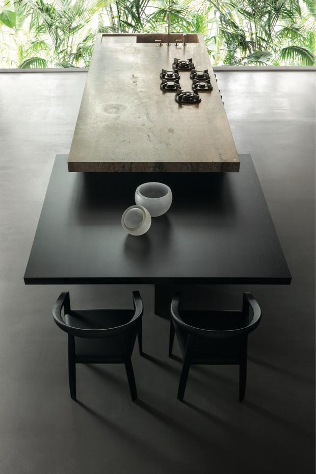 Фото №3 - Выгодный союз: кухонный остров + обеденный стол