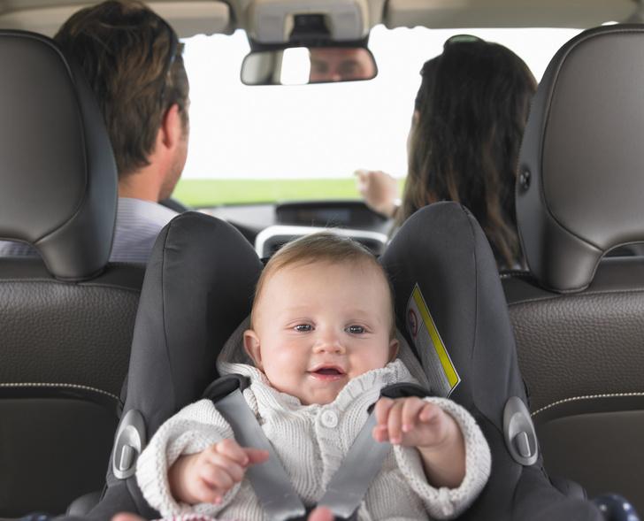кресло в машину для новорожденных