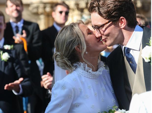 Фото №1 - Как прошла свадьба Элли Голдинг, бывшей возлюбленной принца Гарри