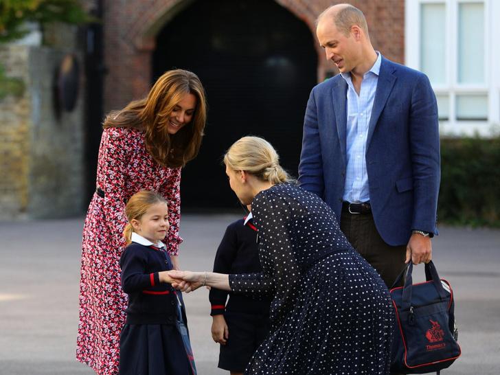Фото №3 - Без особых формальностей: как Джорджа и Шарлотту называют в школе