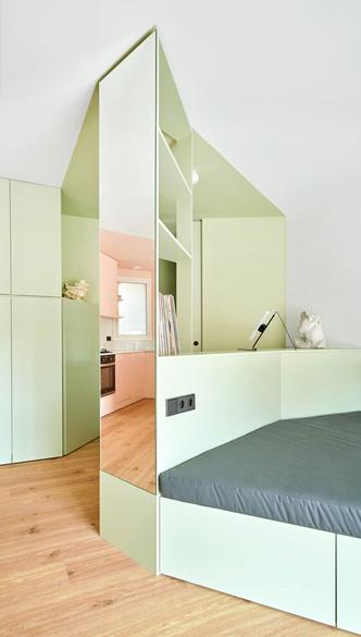 Фото №2 - Квартира без дверей в Барселоне