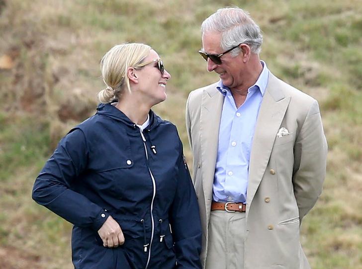 Фото №1 - Как Зара Тиндолл стала для принца Чарльза дочерью, о которой он всегда мечтал