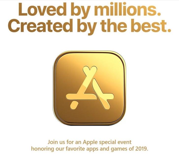 Фото №1 - Apple позвала журналистов на «чествование любимых приложений и игр» 2 декабря