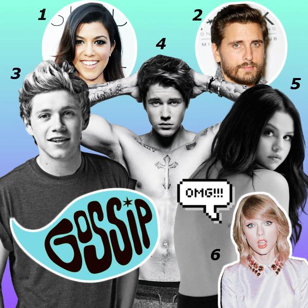 Фото №1 - Звездная эпопея: Джастин, Селена, Найл, Кортни, Скотт и Тей