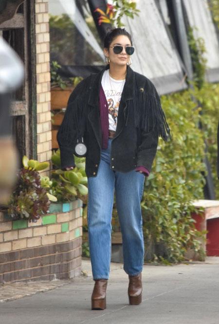 Ванесса Хадженс в Лос-Анджелесе