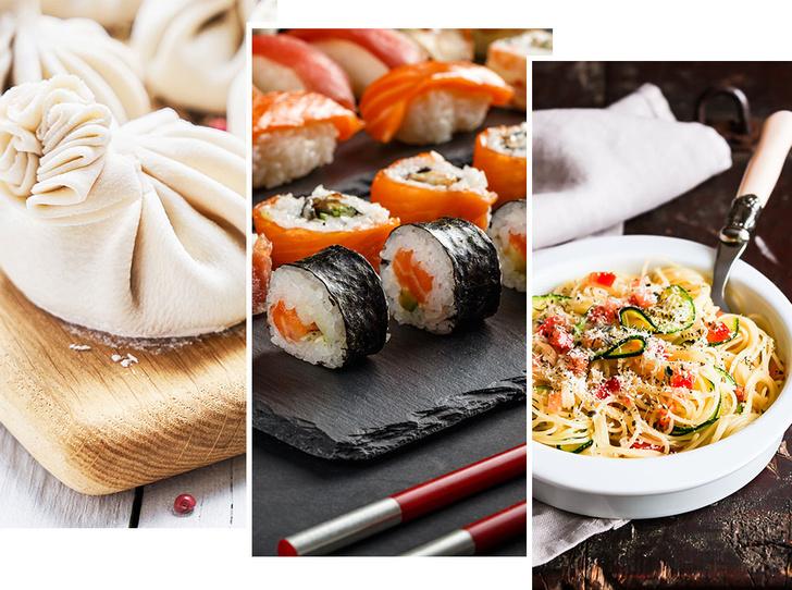 Фото №1 - Грузия, Япония, Италия: как правильно есть популярные национальные блюда