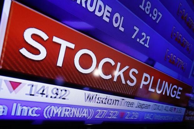 Фото №1 - В США случился крупнейший за 30 лет обвал фондовых рынков