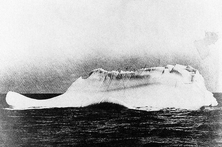 Фото №2 - Фотография якобы того самого айсберга, потопившего «Титаник»