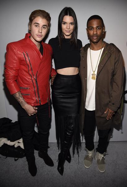 Джастин Бибер, Кендалл Дженнер и Big Sean на показе Adidas Originals x Kanye West