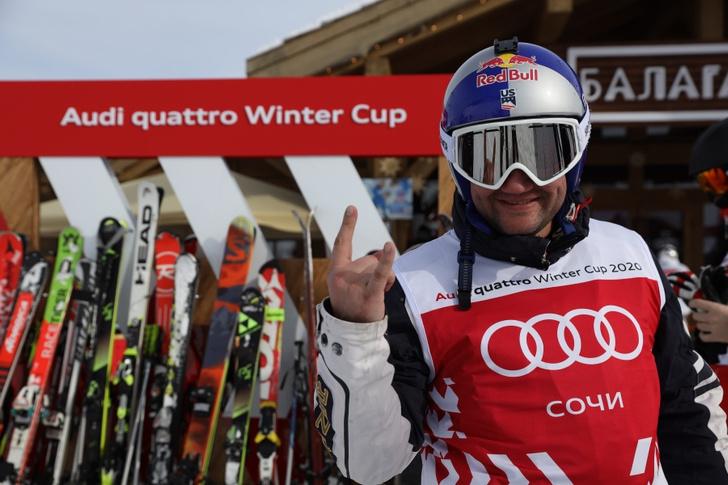 Фото №2 - Финал зимнего турнира Audi quattro Winter Cup 2020 прошел в Сочи