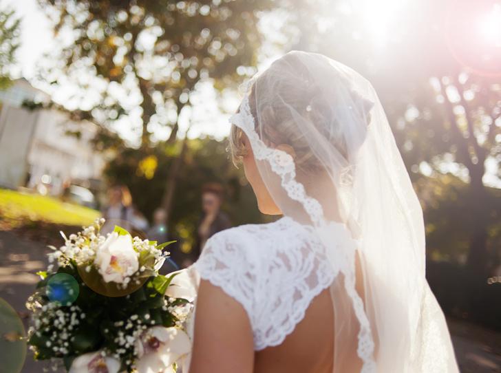 Фото №1 - Идеальная невеста: как подобрать свадебную фату