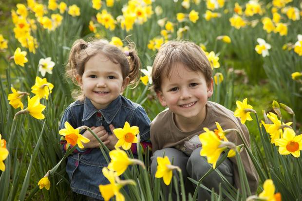 Фото №1 - Малыш, весна пришла! Голосуем за самое радостное детское фото