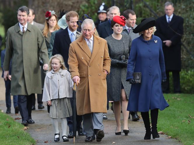 Фото №1 - Неправильное Рождество королевской семьи Великобритании