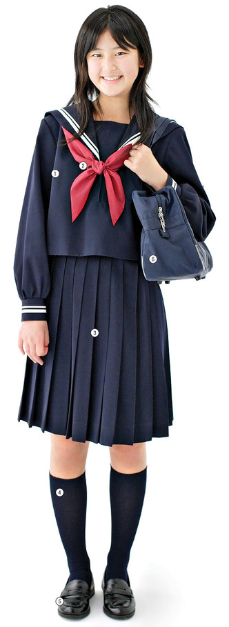 Фото №1 - Сэра-фуку: традиционная школьная форма в Японии