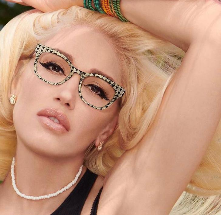 Фото №1 - Набрать очки: вечно юная Гвен Стефани представила новую коллекцию оправ