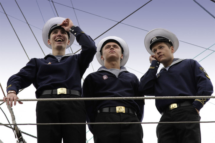 Фото №6 - Ветреные люди: 16 впечатляющих фактов о паруснике «Мир»