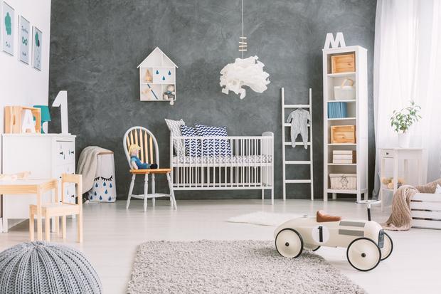 Фото №1 - Как цвет стен в детской влияет на всю будущую жизнь ребенка