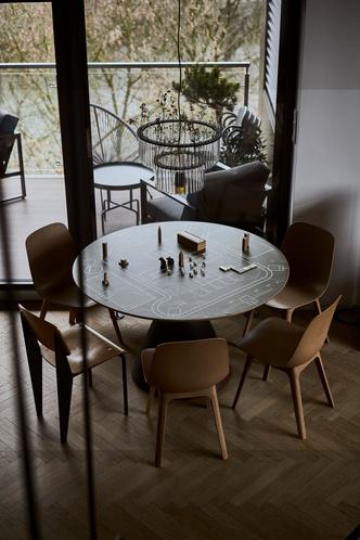 Фото №9 - Эклектичная квартира со спальней в мезонине в Познани