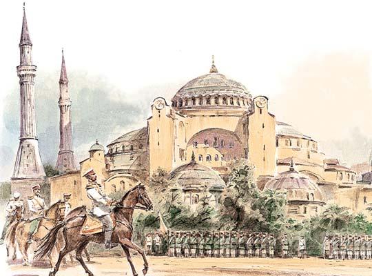 Фото №1 - Иной путь, или Почему Россия лишилась Константинополя