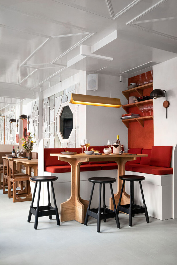 Фото №2 - Frenchie Pigalle: новый ресторан по проекту Доротеи Мейлихзон