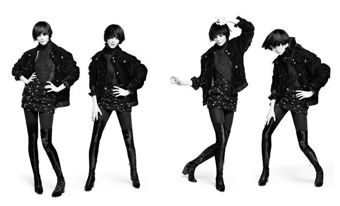 Фото №3 - Новая коллекция Chanel в объективе Карла Лагерфельда