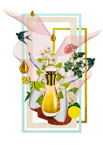парфюмированное масло J'Adore Touche de Parfum, Dior
