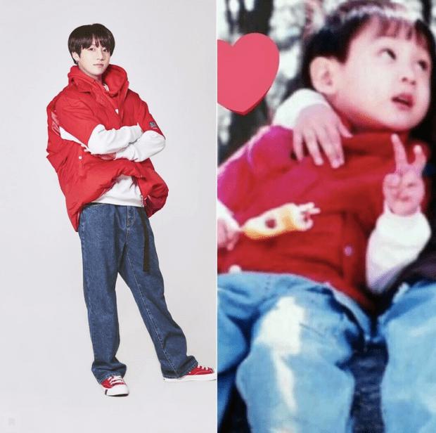 Фото №3 - Милота дня: BTS воссоздали свои детские фотографии