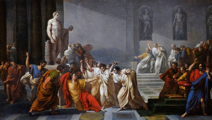 Фото №1 - 2060 лет назад… В Риме убили Юлия Цезаря