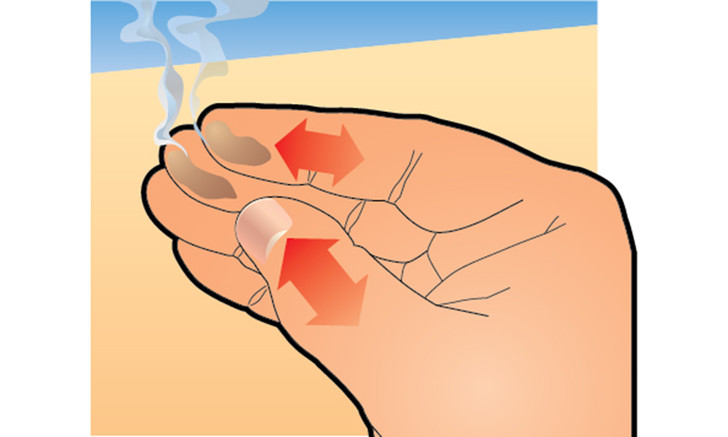 Фото №4 - Химический фокус: как заставить пальцы дымиться