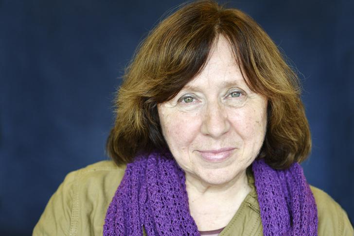 Фото №1 - Светлана Алексиевич получила Нобелевскую премию по литературе