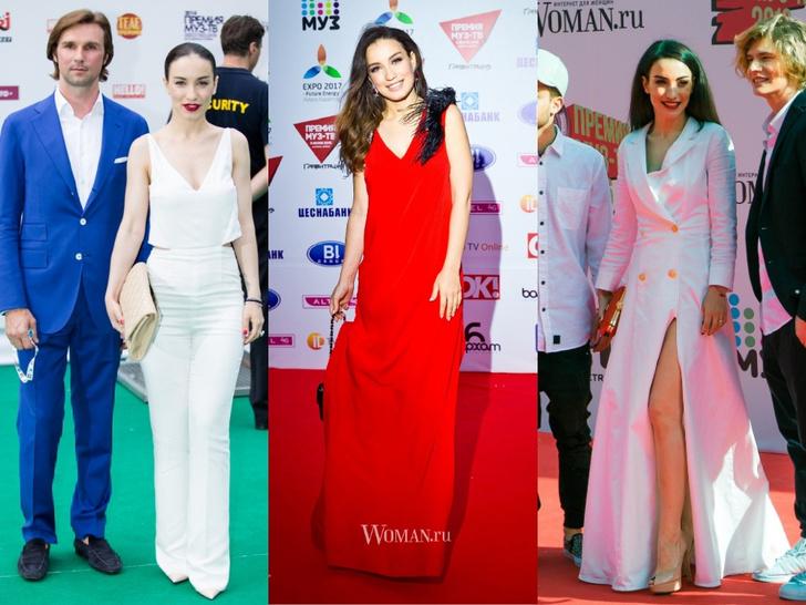 Фото №13 - Незабываемые образы звезд на «Премии МУЗ-ТВ»: модные взлеты и падения