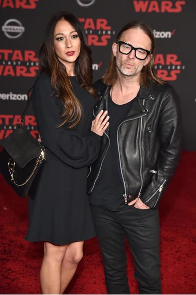 Фото №1 - Лидер группы Radiohead Том Йорк женился на итальянской актрисе