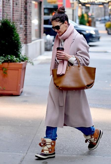 Кэти Холмс в Нью-Йорке