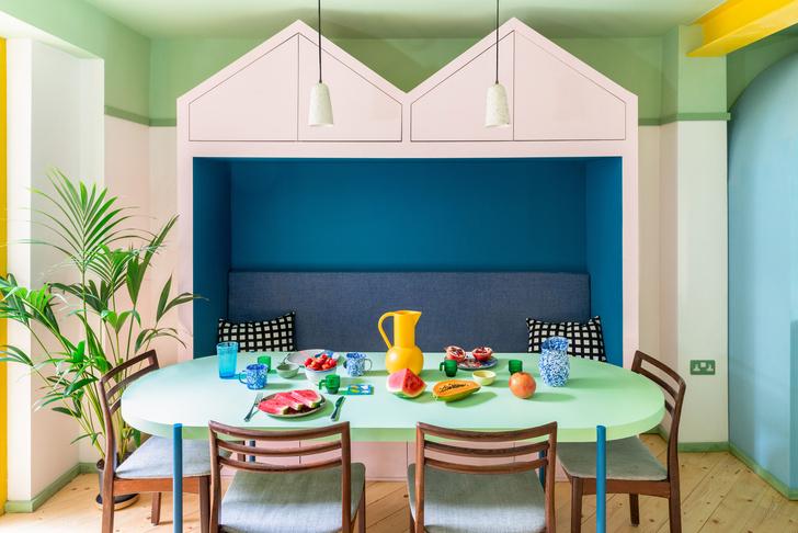 Фото №4 - Color Blocking: яркий дом в Лондоне