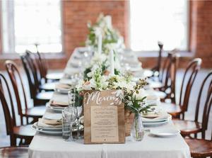 Фото №26 - Свадебный сезон 2017: модные палитры и детали, которые сделают свадьбу по-настоящему стильной