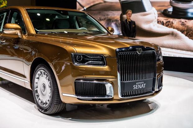 Фото №1 - Российский Maybach по цене настоящего Maybach! В Елабуге стартовало (наконец-то) производство автомобилей Aurus