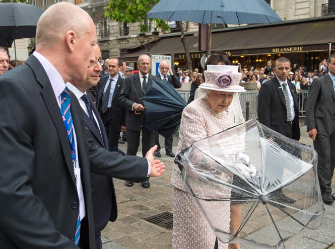 Фото №14 - Виндзорские зонтики: королевский способ спрятаться от дождя