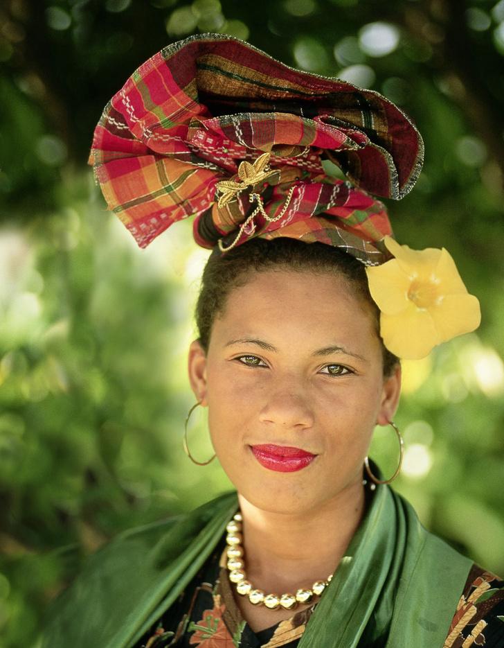Фото №1 - Мисс мира: Гваделупа. Узелковое письмо