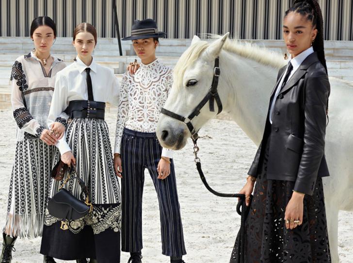 Фото №1 - 10 лучших образов с показа Dior Cruise 2019