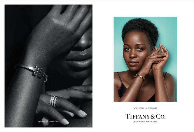 Фото №3 - Эль Фаннинг и Люпита Нионго в новой осенней кампании Tiffany&Co