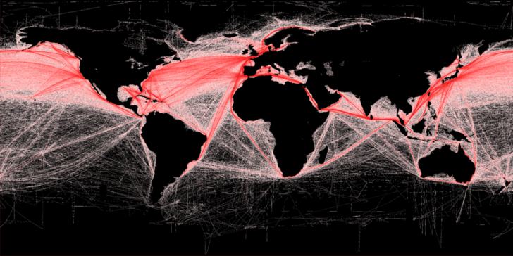 Фото №1 - Морские монстры: самые большие торговые суда, которые можно встретить в море