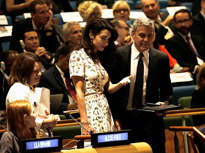 Фото №4 - Джордж и Амаль Клуни: история любви