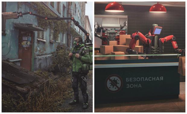 Фото №1 - Футуристическая Россия на самоизоляции глазами питерского мастера киберпанка