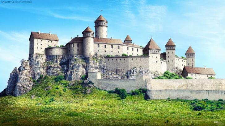 Фото №1 - Как выглядели 7 известных европейских замков: анимированная реконструкция