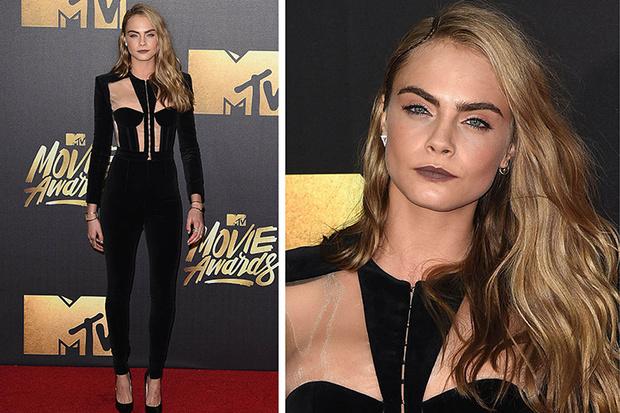 Кара Делевинь MTV Movie Awards 2016